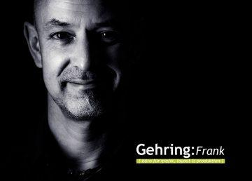 Frank Gehring Büro für Grafik Layout und Produktion
