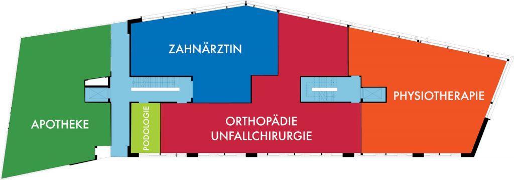 Gesundheitszentrum Fabrik Sonntag Ebene 1